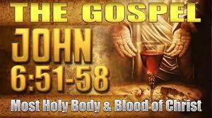 John 6, 51-58c