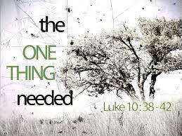 Luke 10, 38-42b