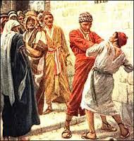 Matthew 18, 21-25a