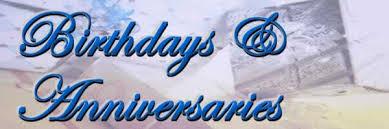Birthday and Anniversaries2
